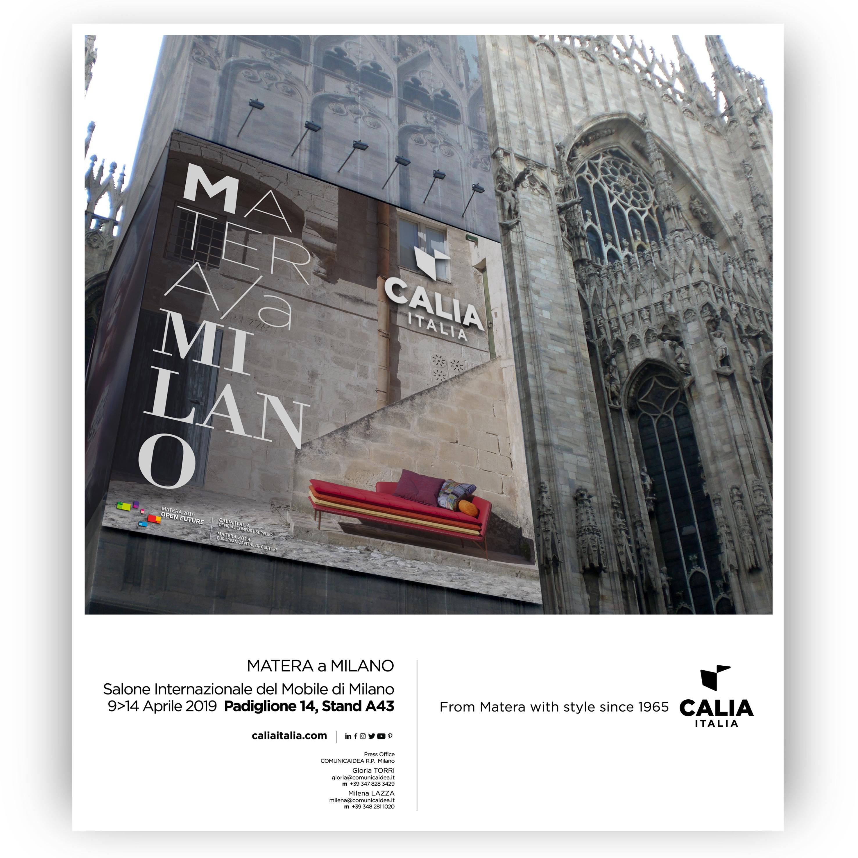 Calia Italia - Matera a Milano