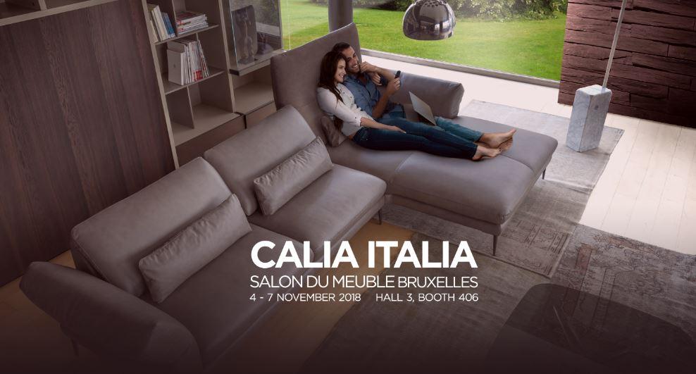 Calia Italia - Salon du Meuble Bruxelles