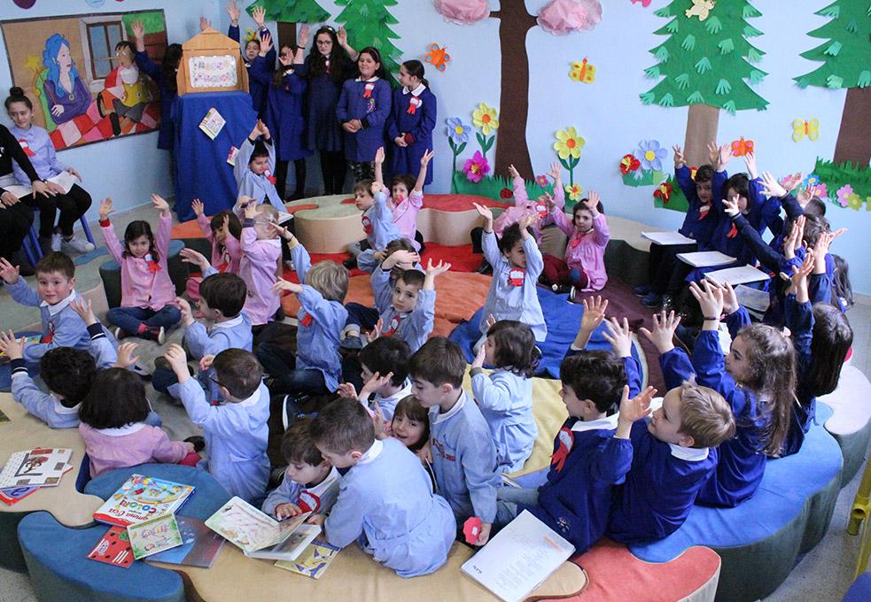 Caliaitalia - Alternanza scuola lavoro sala lettura Cappelluti