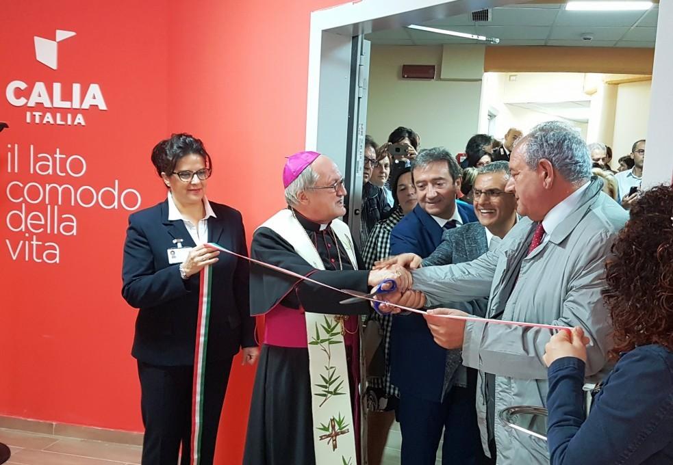 Calia Italia - Inaugurazione della Sala dell'Accoglienza