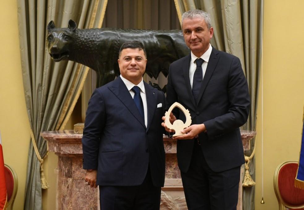"""Calia Italia - Calia Trade SPA riceve il """" Premio 100 Eccellenze Italiane"""""""