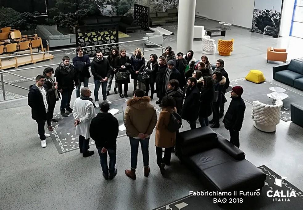 Calia Italia - Calia Trade riceve il Bollino di Qualità per l'alternanza Scuola-Lavoro (BAQ)