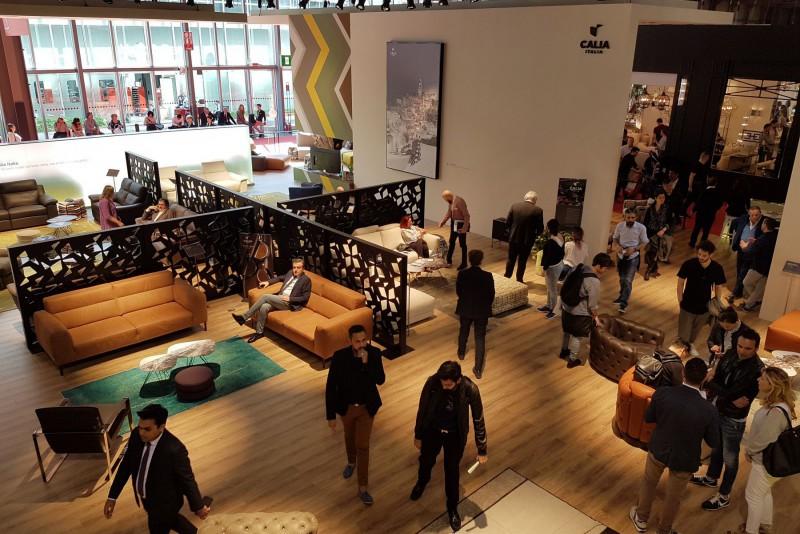 Calia Italia - Calia Italia's stand at the Salone Internazionale del Mobile in Milan 2017